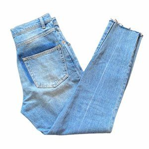 Zara High Waisted Jeans with Pocket Detail, size 4